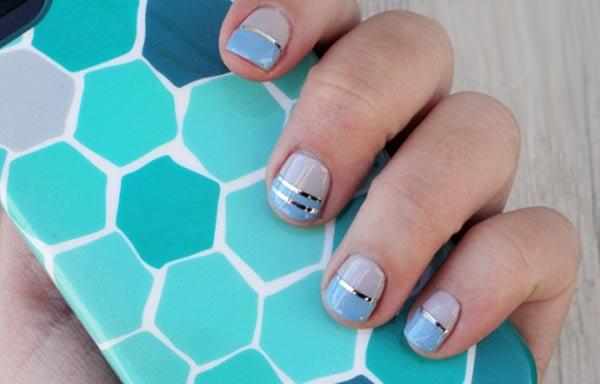 diseños para manicure uñas cortas