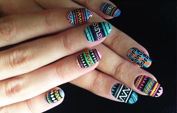 Diseños de uñas tribales - UñasDecoradas CLUB