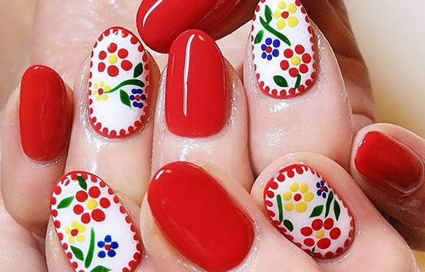 diseño para uñas nuevo acrilicas