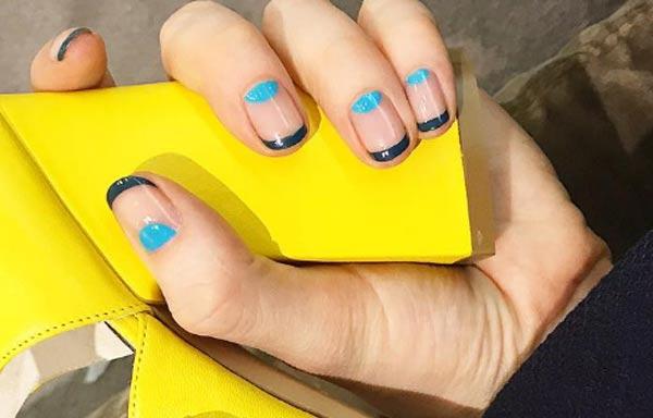 diseño para uñas nuevos curvas