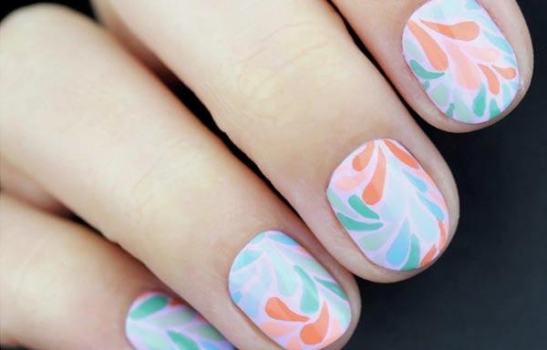 diseño para uñas nuevos pastel