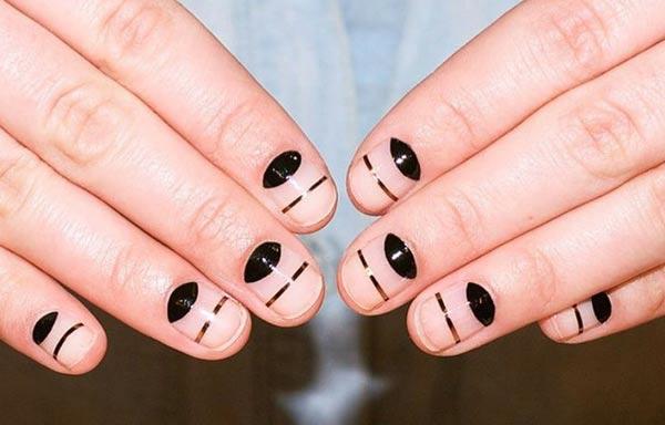 diseño para uñas nuevo sencillo