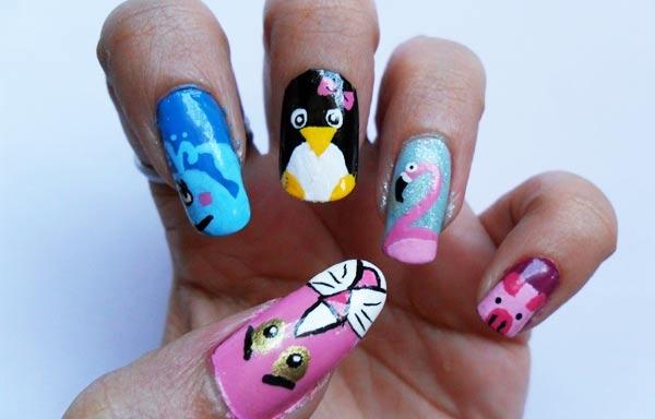 Diseños De Uñas Con Animales Uñasdecoradas Club