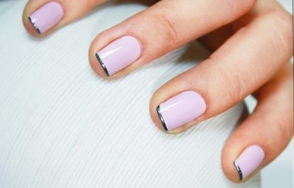 diseño de uñas colores indefinidos