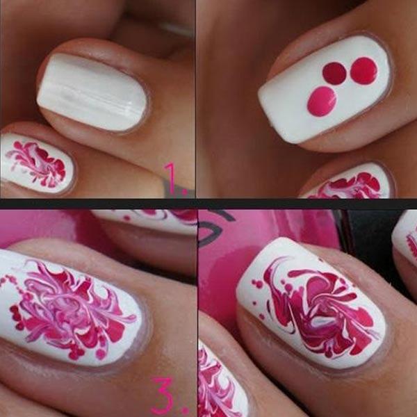 Diseño de uñas para hacer en casa abstract