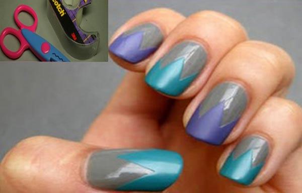 diseños de uñas para hacer en casa esmalte