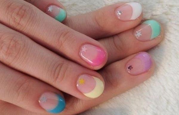 diseños para las uñas de las manos cortas