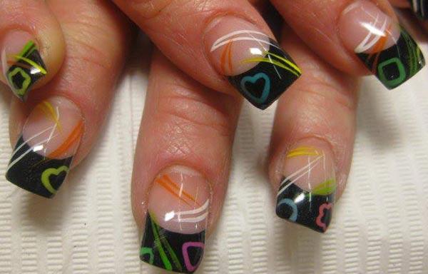 diseño para las uñas de las manos gordas