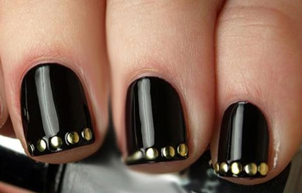 diseño para las uñas de las manos gruesas