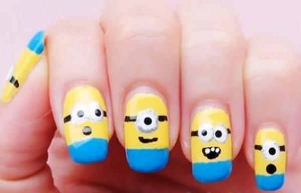 diseños para las uñas de las manos juvenil