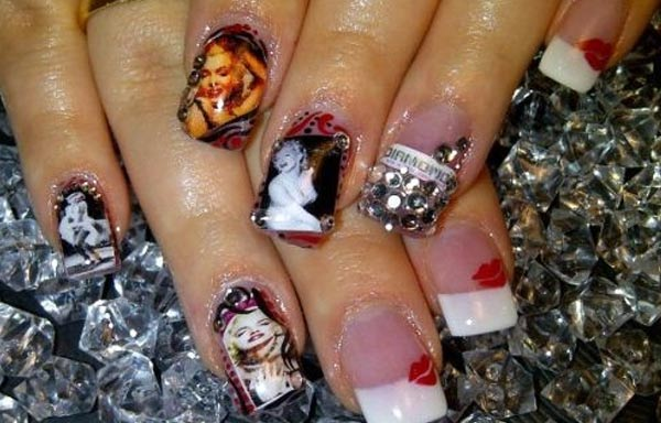 diseño de uñas marilyn imagen