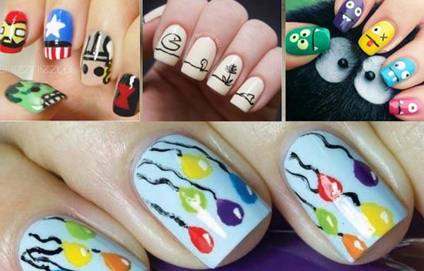 diseño de uñas para niñas pequeñas