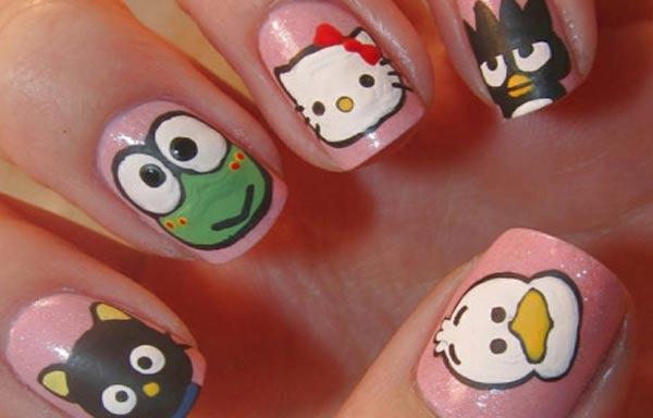 diseño de uñas para niños