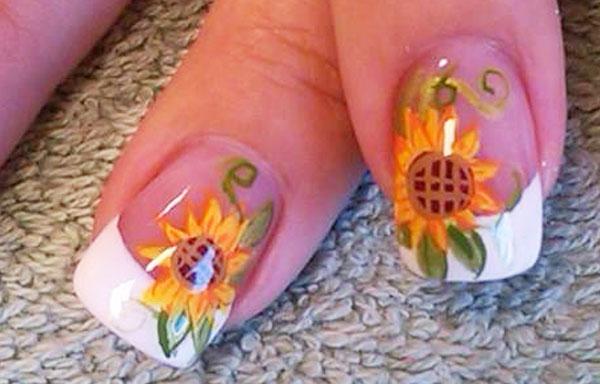 diseños de uñas para boda elegante
