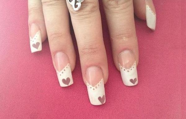 diseño de uñas para boda gel