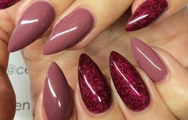 diseños de uñas para boda manicura