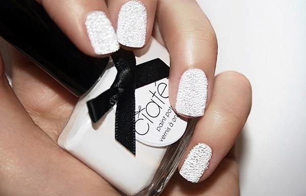 diseño de uñas para boda sencillo