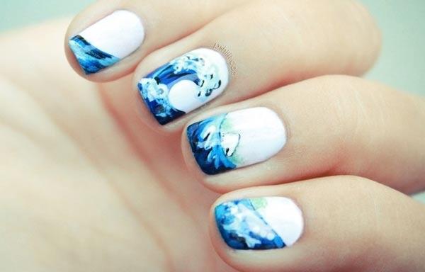 diseños de uñas que se están usando pintadas