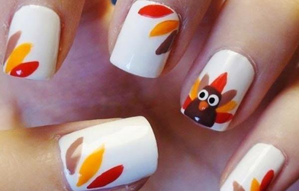 diseño de uñas de xv años con animal