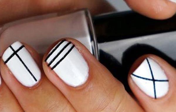diseños para las uñas de las manos faciles