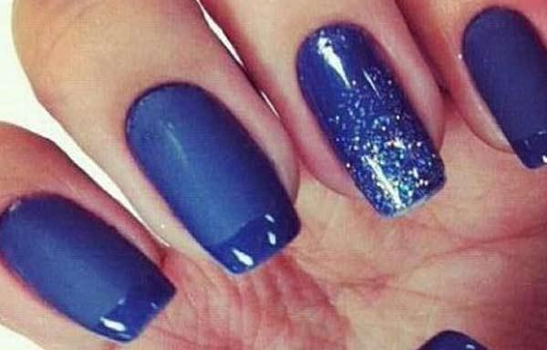 U as decoradas color azul u asdecoradas club - Unas azules decoradas ...