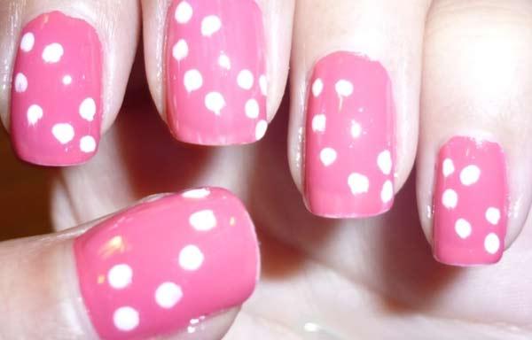 Unas Decoradas Color Rosa Unas Decoradas Club