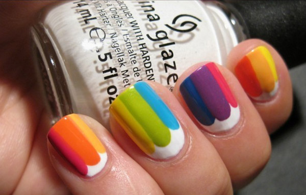 uñas decoradas colores de verano