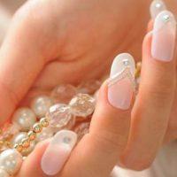 uñas decoradas para boda
