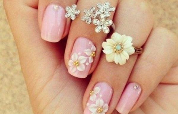 uñas decoradas primavera verano