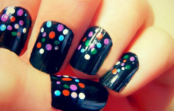 imagenes de uñas decoradas con pintauñas