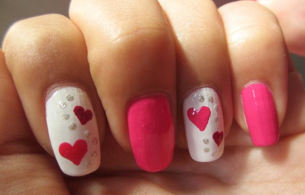 imagenes de uñas decoradas de amor